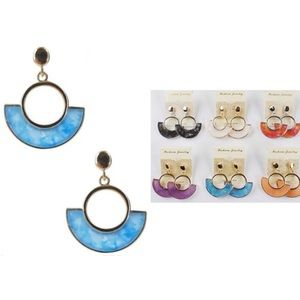 NWT! 6 Pairs Assorted Earrings Dangle Earrings